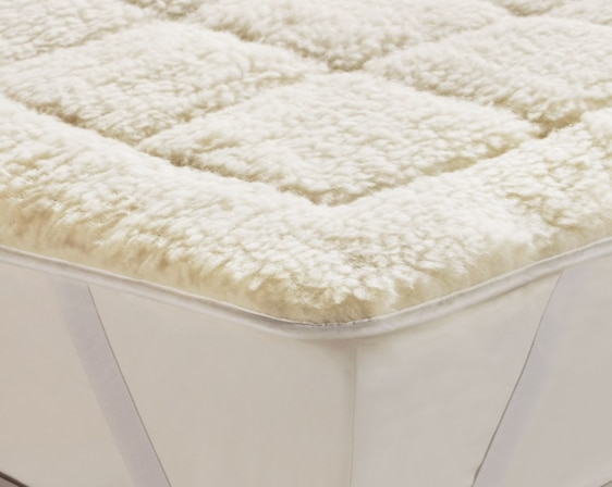 the wool used in the mattress toppers will usually come from lambs but a few offer versions the lambu0027s wool toppers will