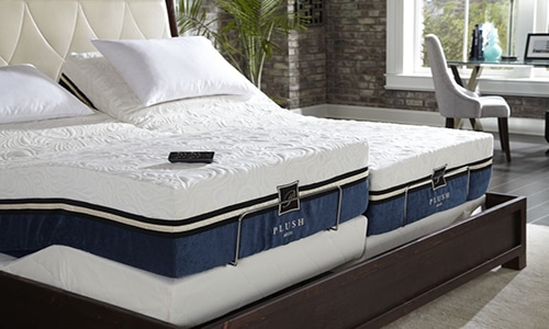 Plush Beds Brand mattress